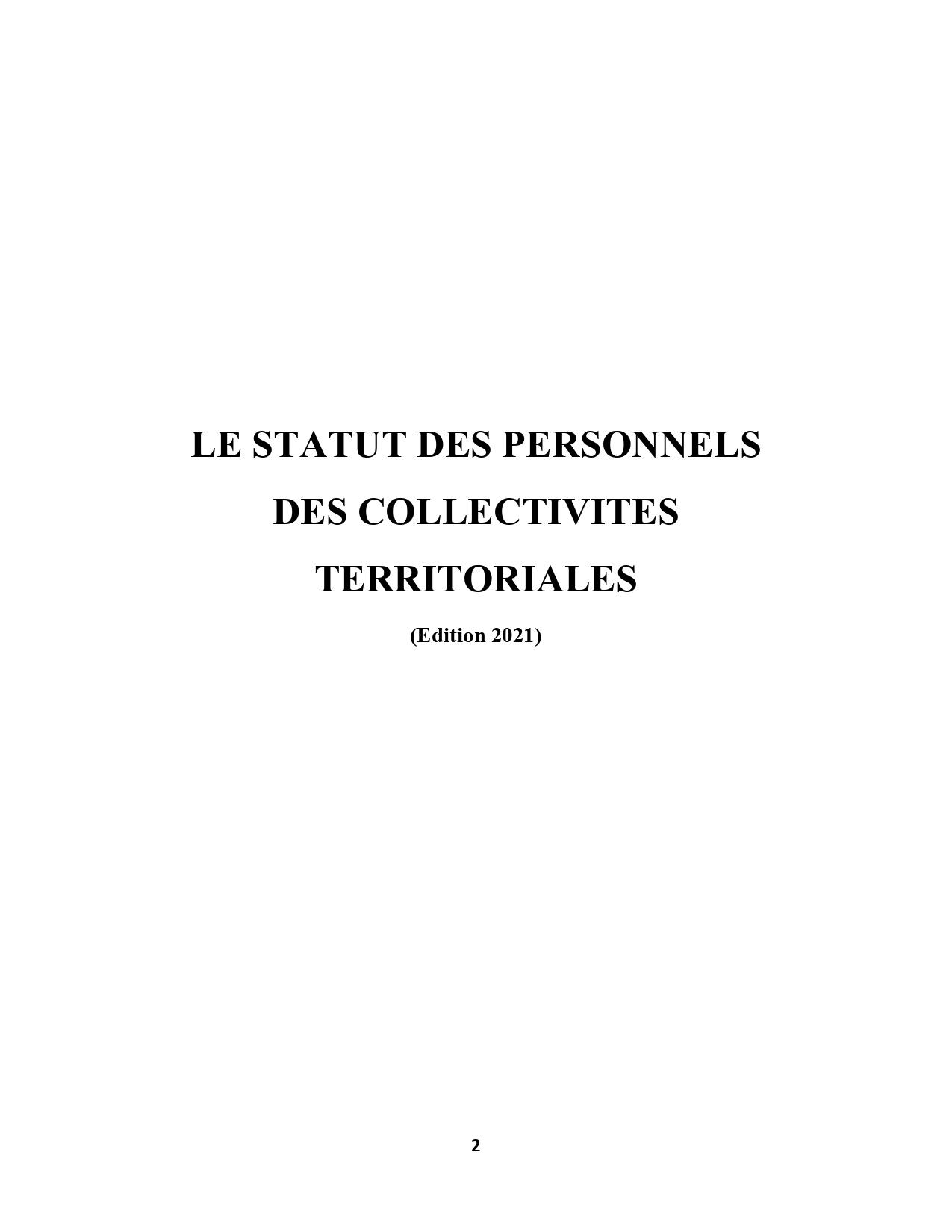 EXTRAIT-Le statut des personnels des collectivit+®s territoriales__page-0002