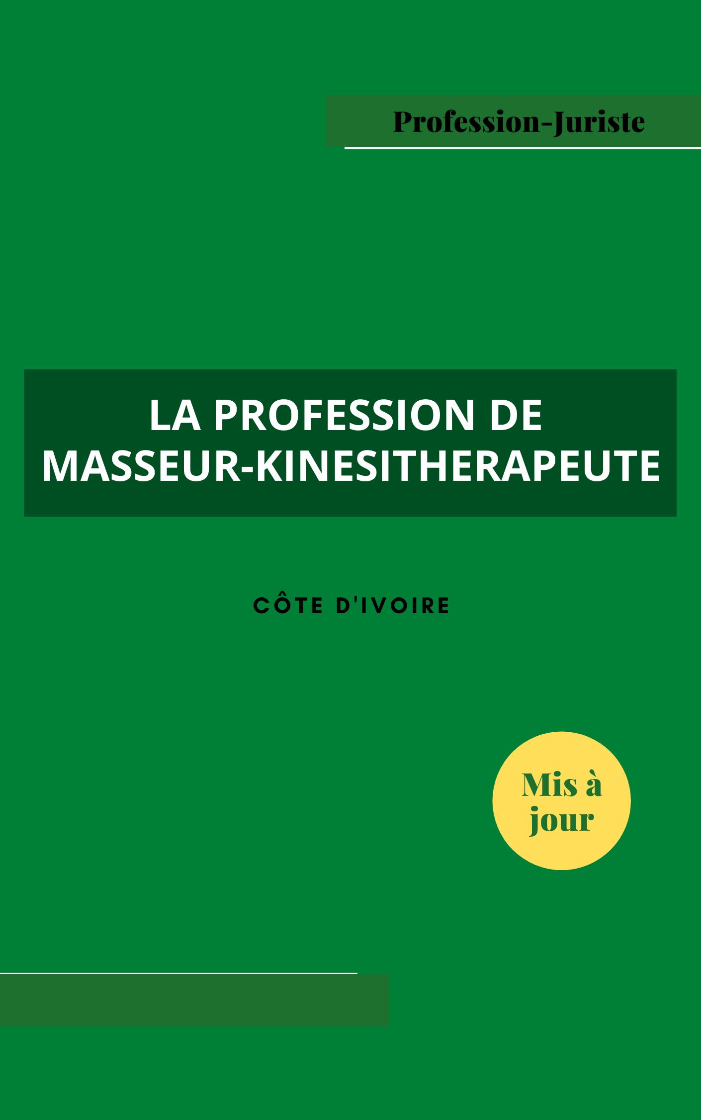profession de masseur-kinesitherapeute