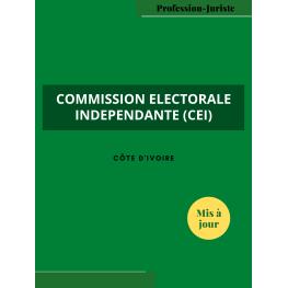 Commission Electorale Indépendante - Côte d'Ivoire (PDF)