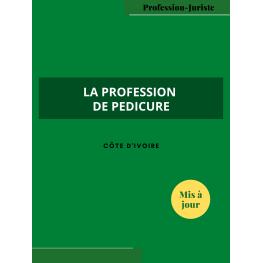 La profession de pédicure - Côte d'Ivoire (PDF)