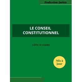 Conseil constitution - Côte d'Ivoire (PDF)